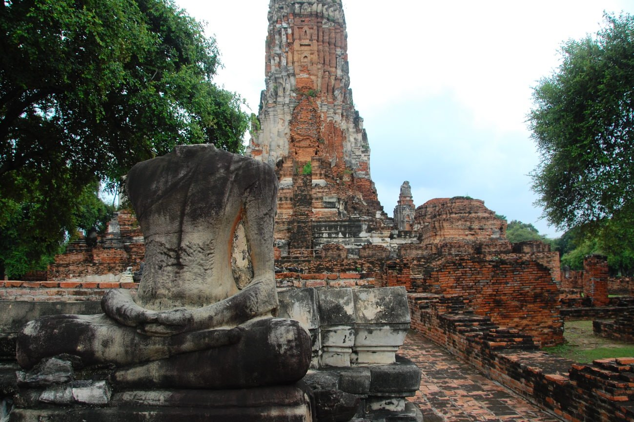 Ayutthaya and the Missing Buddha Heads