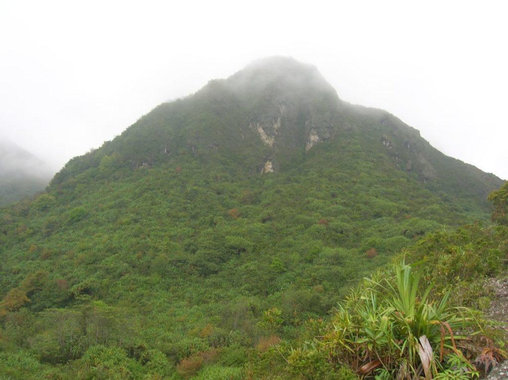 Climbing Gunung Sibayak in Sumatra