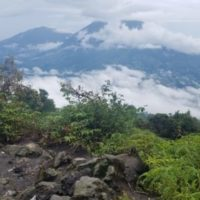Climbing Gunung Marapi West Sumatra