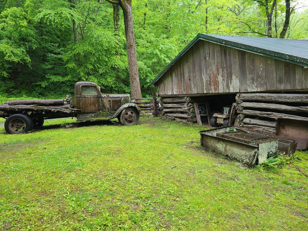 Ely's Mill outside Gatlinburg, Tennessee