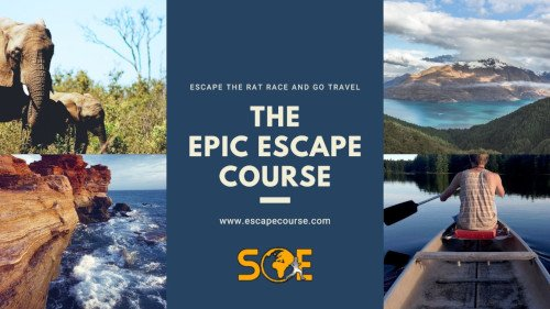 escape to travel banner