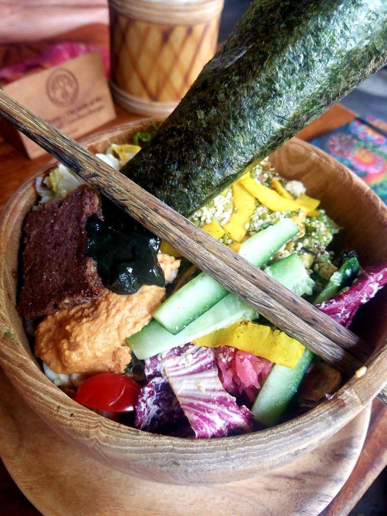 Healthy food in Ubud, Bali