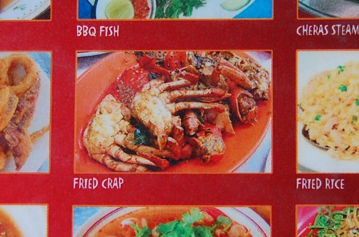 Funny mistake on a menu in Asia