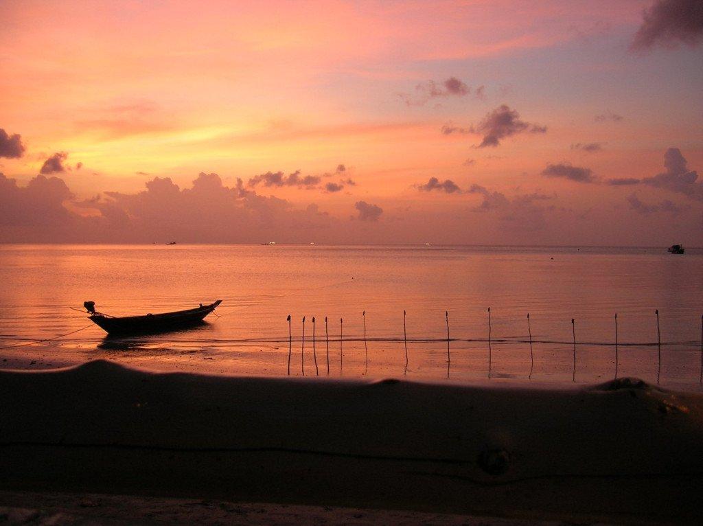 Sunset at Koh Tao, Thailand